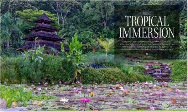 Marvelous Garden Design Magazine   Tropical Immersion Costa Rica With Dennis Schrader